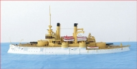 Niko Model 7045 1/700 USS Iowa 1898