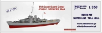 Niko Model 3505 1/350 JOHN C. SPENCER 1944 U.S.C.G Cutter