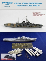 Niko Model 7071 USCG John C.Spencer 1944 Treasury Class
