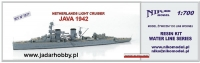 Niko Model 7077 Netherlands Light Cruiser JAWA 1942