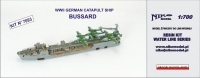 "Niko Model 7093 1/700 WW2 German Catapult Ship ""Bussard"""