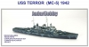 Niko Model 7101 1/700 USS TERROR (MC-5) 1942