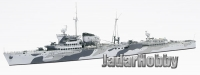 Niko Model 7107 1/700 HNLMS Jacob van Heemskerck 1942 Dutch light cruiser