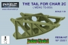 Niko Model NP 35001 - The tail for Char 2C (1/35)