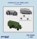 Niko Model ZW3509 1/350 CHEVROLET C8A  AMBULANCE (3 to a pack)