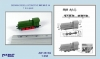 Niko Model ZW3513 1/350 GERMAN DIESEL LOCOMOTIVE WR 360 C 14 (1 to a pack)