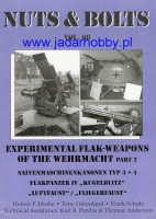 Nuts & Bolts 08# Experimental Flak-Weapons of the Wehrmacht (2) (Komis/Second Hand)