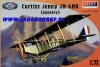 Olimp Models P72-004 Curtiss Jenny JN-4HG (gunnery) (1/72)