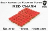 Paint Forge PFFL2626 Flowers 6mm - Red Charm