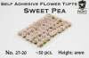 Paint Forge PFFL2627 Flowers 6mm - Sweet Pea