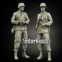 Panzer Art FI35-035 (BACKORDER) 1/35 Waffen-SS Normandy set
