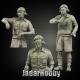 Panzer Art FI35-057 1/35 British RAC North Africa early tank crew (3 figures)