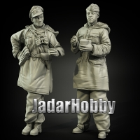 Panzer Art FI35-068 1/35 Waffen-SS Anorakanzug at rest set