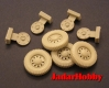 Panzer Art RE35-031 (Backorder) 1:35 Road Wheels for Scout Car Dingo