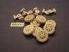 Panzer Art RE35-053 1/35 Road Wheels for Sd.Kfz 232/232 8 rad (with spare)