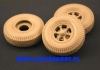 Panzer Art RE35-072 1/35 Road Wheels with spare for Sd.Kfz.9 FAMO