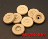 "Panzer Art RE35-119 1/35 Road Wheels for ""Eingeistdiesel"" (Gelande tire)"