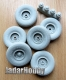 Panzer Art RE35-590 1/35 Faun L900 Road wheels (Fulda)
