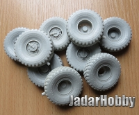 Panzer Art RE35-613# 1/35 Kamaz Pantsir - S1 Road Wheels