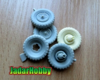 Panzer Art RE35-626 1/35 Schwimmwagen Road wheels (Extra Gelande)