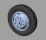 Panzer Art RE35-321 1/35 Mercedes LG 3000 Road Wheels (Gelande Pattern)