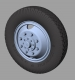 Panzer Art RE35-322 1:35 Mercedes LG 3000 Road Wheels (Commercial Pattern)