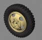 "Panzer Art RE35-328 1/35 Road Wheels for Ford ""Maultier"" (Gelande Pattern)"