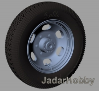 Panzer Art RE35-406 1/35 Steyr 1500 Road wheels (Commercial pattern)