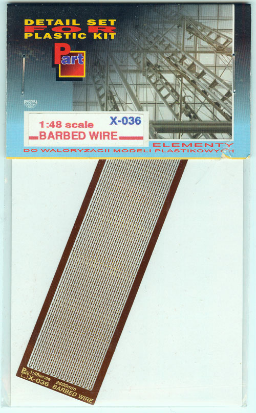 Part X036 Barbed Wire (1/48)