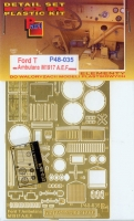 Part P48-035 1/48 Ford T M1917 A.E.F. Ambulance (RPM)