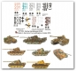 Peddinghaus 1022 1:48 Panther Tanks Markings vol.1