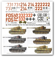 Peddinghaus 1598 1:48 Tiger I 1943-45 vol.4