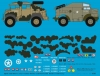 Peddinghaus 3325 1/35 Morris Gun Tractor Africa and Normandy with Micky Mouse camouflage