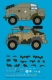 Peddinghaus 3328 1/87 Morris Gun Tractor Africa and Normandy with Micky Mouse camouflage