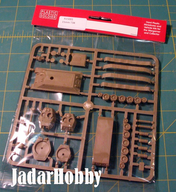Plastic Soldier R15001 Russian T34 76/85 Tank (15mm)