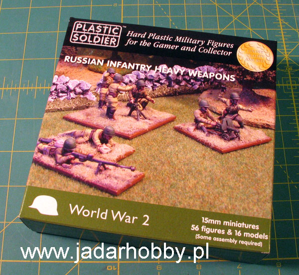 Plastic Soldier WW2015004 - WW2 Russian Infantry Heavy Weapons (15mm)