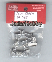 Plastic Soldier WW2G20008 1/72 UK and Commonwealth HQ/Battery HQ set