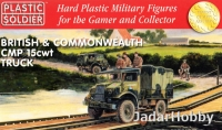 Plastic Soldier 1/72 R20026 British and Commonwealth CMP 15cwt truck