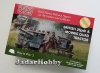 Plastic Soldier WW2G20006 1/72 British 25pdr and Morris Tractor