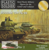 Plastic Soldier 15mm WW2V15001 T-34 76/85