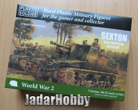 Plastic Soldier 15mm WW2V15035 British Sexton self propelled artillery
