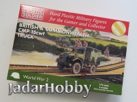 Plastic Soldier 1/72 WW2V20024 British and Commonwealth CMP 15cwt truck