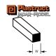 Plastruct 90780 (MS-125) Styrene Square Rod 3.2mm (1 sztuka)