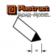 Plastruct 90846 (MRT-125) Styrene Triangular Rod 3.2mm (1 sztuka)