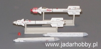 Plus Model AL4009 Russian Missile R-73 AA-11 Archer (1:48)
