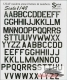 Print Scale 48-48-005 USAF modern letters and numbers (1/48)