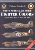 Progres WCG #3 South African AF Fighter Colors vol.2 (książka)