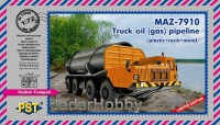 PST 72080 1/72 MAZ 7910 - Truck Oil (Gas) Pipeline