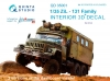 Quinta QD35001 1/35 ZiL-131 Family (for all kits)