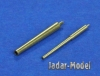 RB Model 72B60 1/72 75mm L/31 & US 37mm Barrels for M3 Lee